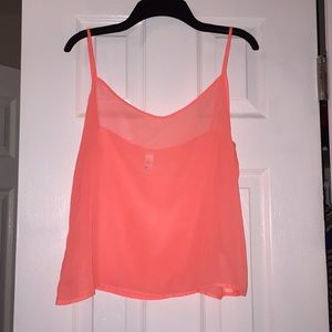 American Apparel Chiffon top.